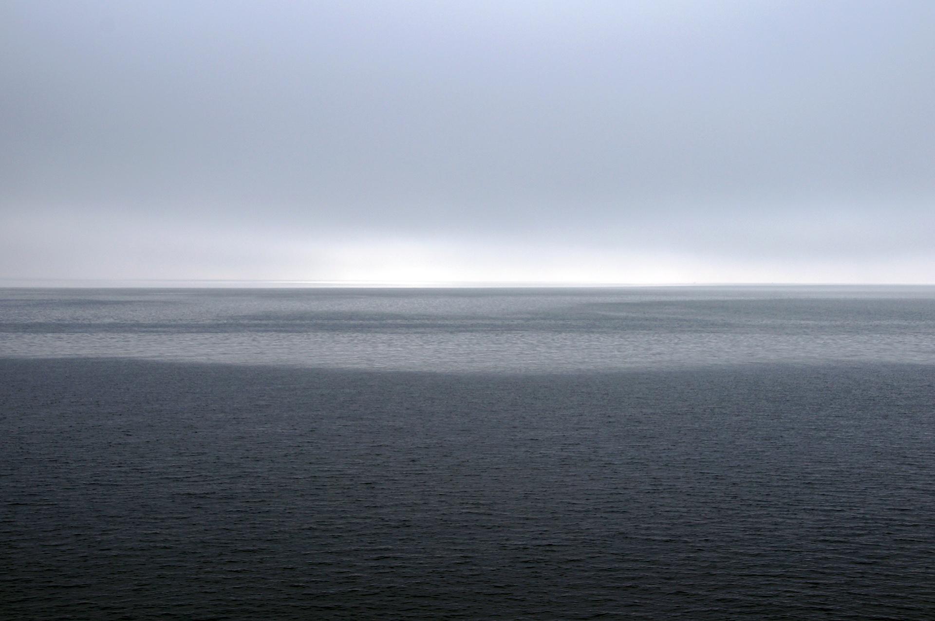 Herbstliche Morgenstimmung auf dem Bodensee, Fotografie, 2014
